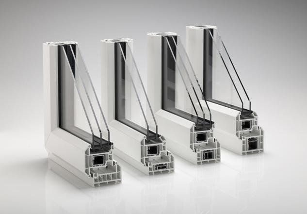 Rehau windows doors alkon for Pvc double glazing